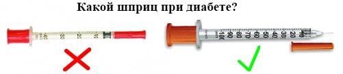 Какие бывают шприцы для инсулина и как ими правильно пользоваться (с фото)