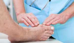 Ангиопатия ног при сахарном диабете