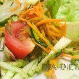 Разрешенные рецепты вкусных салатов при диабете