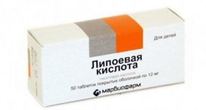 Липоевая кислота и ее применение при диабете